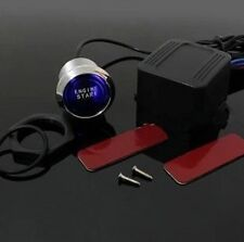 Universal Car Engine Start Push Button Switch Ignition Starter Kit Blue LED ETDS