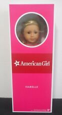 "New 18"" American Girl Isabelle Girl of Year Doll Never Removed From Box 2014"