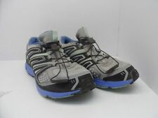 Salomon Women's X-Mission 2 Trail Runner Light Onix/Petunia Blue/Igloo Size 8.5M