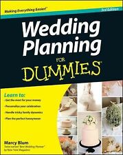 Wedding Planning for Dummies by Marcy Blum (2012, Paperback)