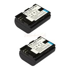 LP-E6 Li-ion Battery for Canon EOS 7D 70D 5D Mark II III DSLR Camera / 2PCS CA
