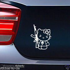 (427) Fun Sticker Aufkleber / Bad Kitty JDM  Stickerbomb