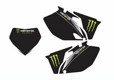 YAMAHA STICKERS GRAFICHE TABELLE MONSTER YZ YZF WR WRF VARI ANNI PERSONALIZZABIL
