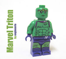LEGO Custom -- Triton -- Marvel Inhumans royal family Mini figure super heroes