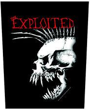 THE EXPLOITED - Rückenaufnäher Backpatch Skull Punk 2