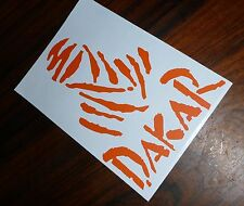DAKAR Sticker Decal Pro Cut 13cmH MOTORBike Enduro Laptop Car 4X4 KTM Husqvarna.