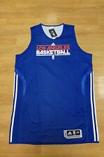 LOS ANGELES CLIPPERS ADIDAS PRACTICE TEAM ISSUED JERSEY PRO CUT DEANDRE JORDAN