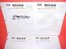 1959 1960 UNITED MOTORS DELCO GARAGE DOOR CONTROL SERVICE MANUAL MODELS R58 R59