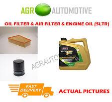 DIESEL OIL AIR FILTER KIT + FS F 5W30 OIL FOR FORD GALAXY 1.8 125 BHP 2006-12