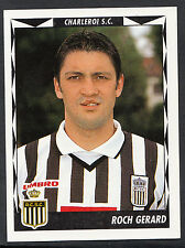 Panini Belgian Football 1999 Sticker - No 106 - Charleroi - Roch Gerard