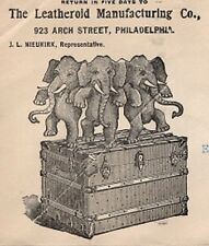 Leatheroid Mfg Philadelphia Elephants Stomp Trunk & Backside 1911 Cover 9q