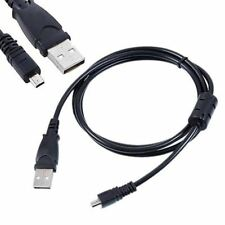 USB Battery Charger + Data SYNC Cable Cord Lead For Olympus camera VG-120 VH-520