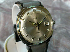 Bulova vintage automatic watch 1967 11BLACD Very Special Silver Dial Date Rare