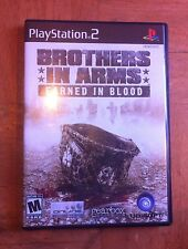 Brothers in Arms: Earned in Blood (Sony PlayStation 2, 2005)