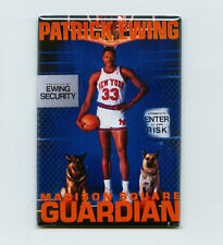 PATRICK EWING COSTACOS BROTHERS POSTER FRIDGE MAGNET knicks jersey champion usa