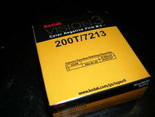 Kodak Vision 3 200T Super 8mm Color Negative Film 200T/7213 Roll Fresh stock NIB