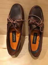 TIMBERLAND Amherst Classic 2-Eye Leather Boat Shoes Loafers $130 women's 7