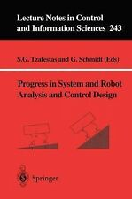 Progress in System and Robot Analysis and Control Design (Lecture Note-ExLibrary