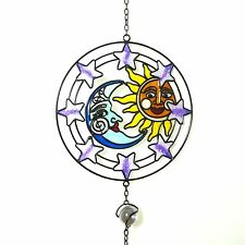 SUN MOON AND STARS WINDCHIME