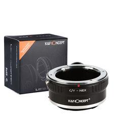 Contax Yashica C/Y mount Lens to Sony E NEX Tripod Adapter A7 A7R NEX-5T C/Y-NEX