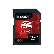 Emtec Sdhc 32 Gb 18mb/s Para Sony Dsc Tx10, J10, Hx5, Nex-3, Nex-5