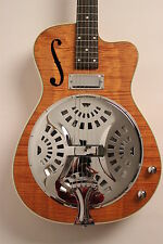 RESONATOR GUITAR SX /Dobro RG1CE/FR/NA +Pickup +Cut + very nice Grain