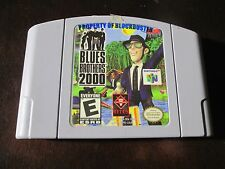 Blues Brothers 2000 Nintendo 64 N64 Cleaned & Tested rare