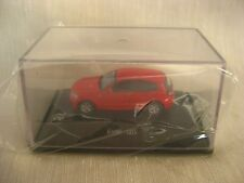 BMW 120i Red 1:87 Scale city auto MODELS