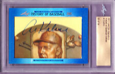 Al Kaline 2017 Leaf History Of Baseball Cut Signature Edition Auto 45/54