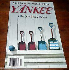 YANKEE Magazine July 1998 Mount Desert SW Harbor / Lowell Folk Festival Recipes