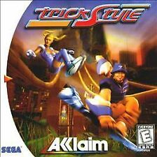 TrickStyle (Sega Dreamcast, 1999) Complete Fast Shipping!