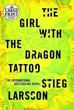 The Girl with the Dragon Tattoo (Random House Large Print)