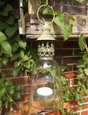 LANTERNE DE JARDIN LAMPE-TEMPÊTE STYLE RUSTIQUE ANTIQUE METAL MINABLE PHOTOPHORE
