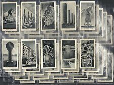 SCIENCE FICTION! THE WORLD OF TOMORROW, SET OF 50 ISSUED BY WESTMINSTER TOB. CO.