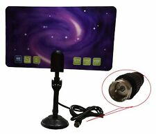 New 1080 Digital Indoor HD TV HDTV DTV VHF UHF PC NB Flat High Gain Antenna