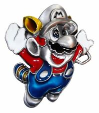 Nintendo SUPER MARIO Power Up Character Metal w/ Enamel BELT BUCKLE