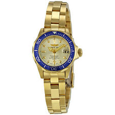 Invicta Pro Diver 18kt Gold Plated Ladies Watch 4610