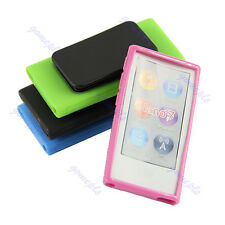 Ultra Thin TPU Case Cover Skin With Belt Clip For Apple ipod Nano 7 7G 7th Gen
