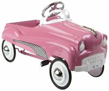InStep RIDE ON TOYS Lady PEDAL CAR, Solid Steel Frame KIDS PEDAL CAR, Pink