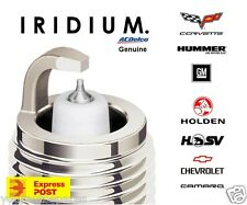 GENUINE HOLDEN IRIDIUM SPARK PLUGS FOR V8 COMMODORE HSV VTII VU VX VY VZ VE VF