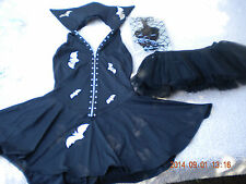 Nom De Plume Sexy Vampire Complete Costume New SZ L Large 3 Pieces USA Made Sale