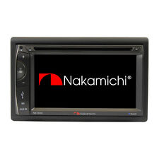 "NAKAMICHI 2 Din 6.2"" HD Screen Car DVD Bluetooth Player Stereo Bluetooth NA1200"