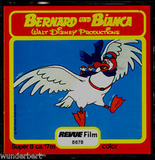 "Super 8 Film - "" Disney - Bernard and BIANCA "" - Revue film 17 m"