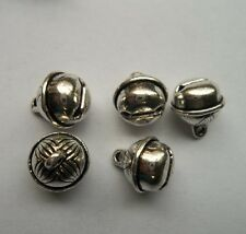 20 pcs Tibetan silver alloy small bell charms pendant 11x11mm