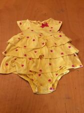 Carter's Just One You Yellow Ladybug Dress Size 3 Months (md)