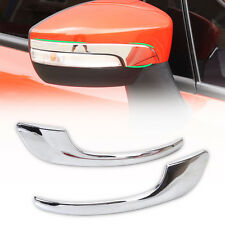 Chrome Side Rearview Mirror Molding Cover Trim Fit Ford Escape Kuga 2013 2014