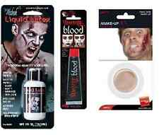 Halloween Zombie cicatrice Set con Lattice Liquido Finto Pelle + sangue ha9020 +24417 +9430