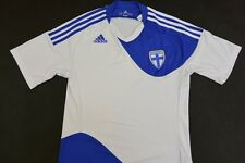 Football Shirt 2010-2011 Adidas Finland Home Soccer Jersey SUOMI SIZE S (adults)