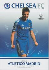 CHELSEA v ATLETICO MADRID CHAMPIONS LEAGUE 2013/14 2014 MINT PROGRAMME