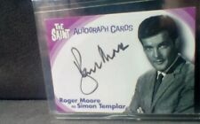 The Saint James Bond Archives Roger Moore Signed Trading Card